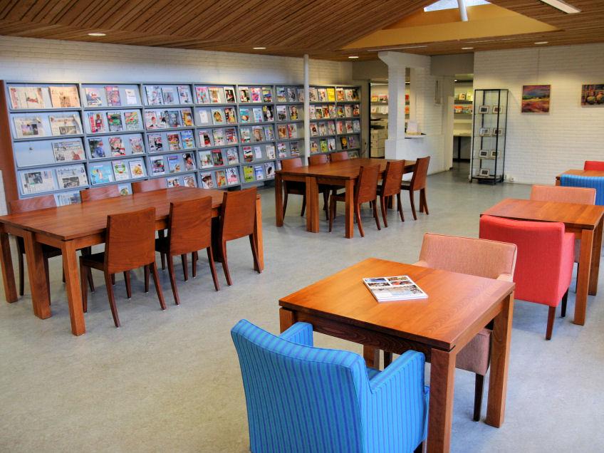 restyling leeszaal bibliotheek voorschoten | portfolio | vision
